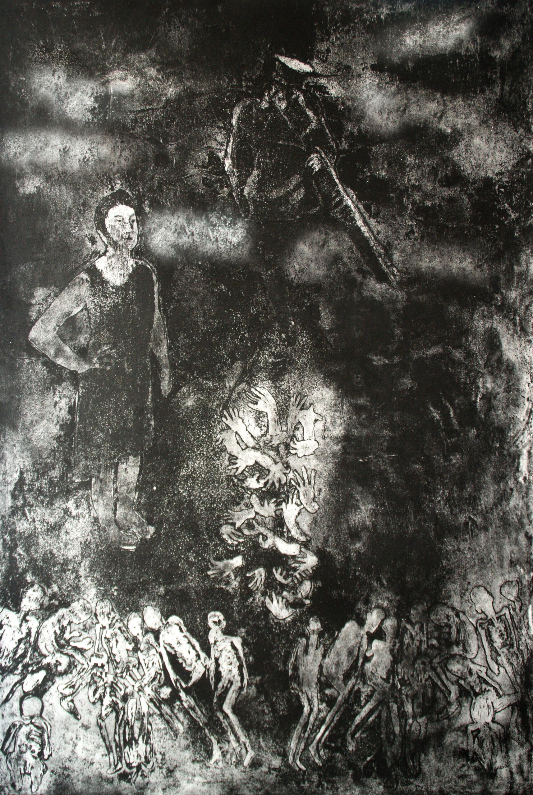 Exiles Art print from Marina Provatidou